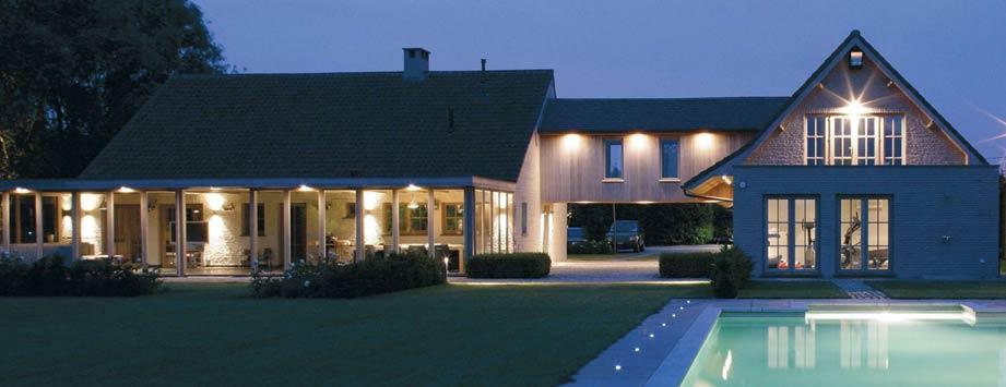 Elektro peulen producten buitenverlichting - Buitenverlichting gevelhuis ...